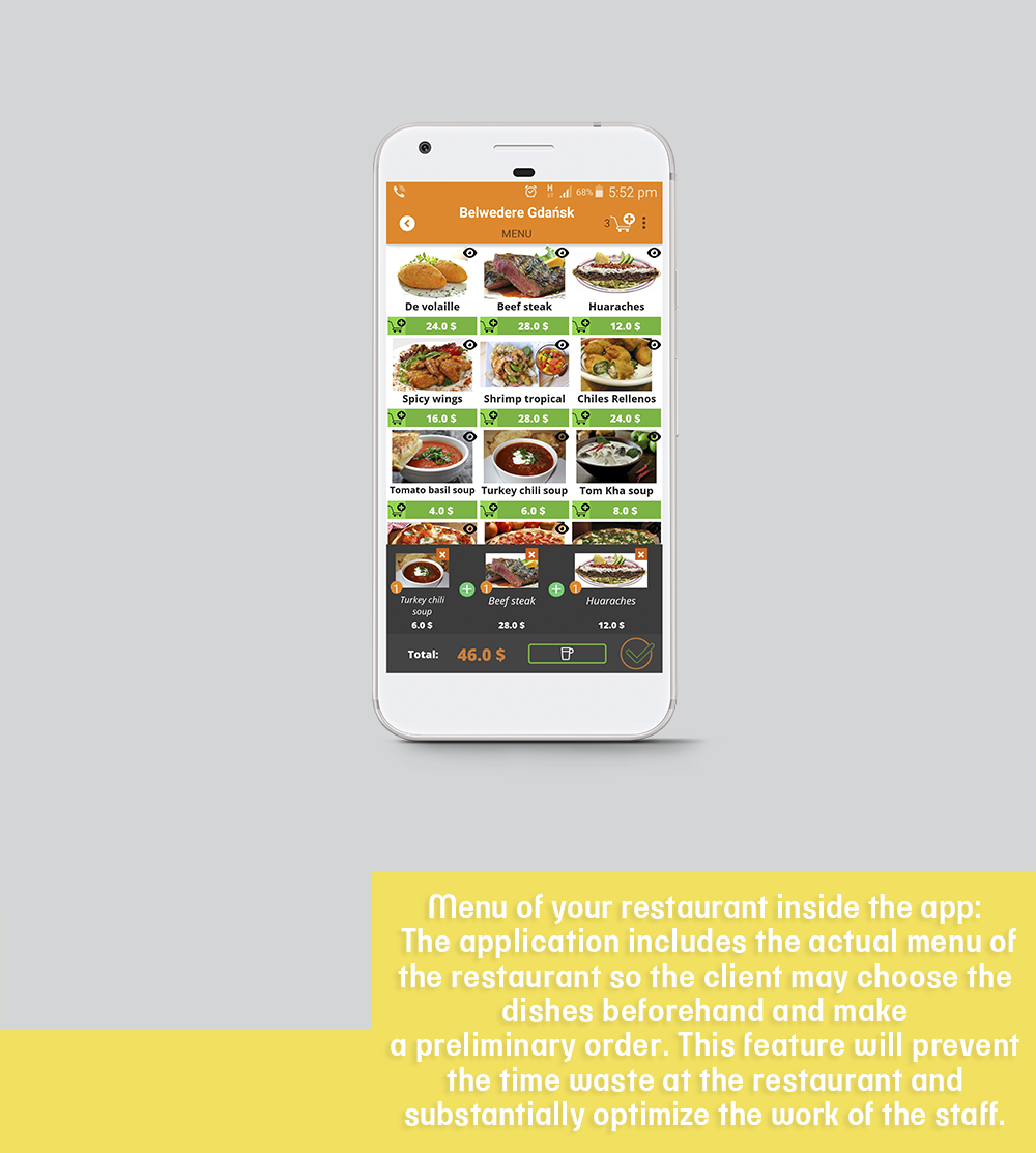 Go Dining Application